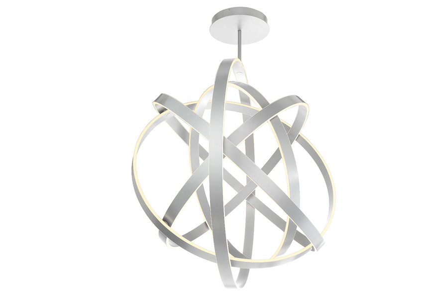 Spectacular lighting: Kinetic LED interior chandelier by Modern Forms