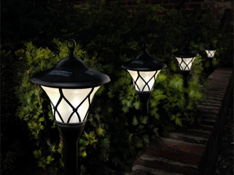 Photovoltaic Lighting: Solar Garden Lights