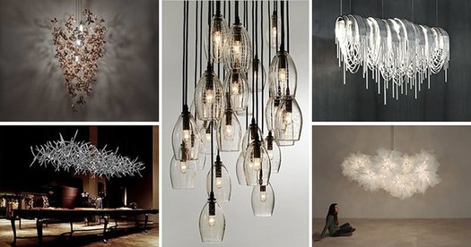 The best 4 types of chandeliers